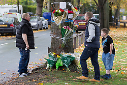 "© Licensed to London News Pictures . FILE PICTURE DATED 28/10/2012 . Chassen Road , Flixton , Manchester , UK . The scene of a road traffic accident where mourners are leaving flowers and tributes taped to a tree .<br /> <br /> A man has been jailed for seven years after killing his friend whilst drink driving. Liam Colin Creathorne of Urmston , Greater Manchester , had been out drinking with friend John Hodson on Saturday 27th October 2012 when he lost control of his car , spinning it on a bend in the road before ploughing in to a tree . John (27) suffered head injuries so severe that he died in hospital the following morning<br /> <br /> Creathorne (24) , who suffered a chest injury in the crash , pleaded guilty and , alongside the lengthy sentence , was also banned from driving for seven years.<br /> <br /> Inspector Matt Bailey-Smith of Greater Manchester Police said ""First and foremost, our thoughts are with the family of John Hodson, who were left devastated by this tragedy a year ago.<br /> <br /> ""Creathorne should never have been behind the wheel of that car that night. Not only that, he then went onto drive in such a reckless manner that in that moment the lives of both men were at risk.<br /> <br /> ""Today, Creathorne has rightly been jailed for what he has done but he will have to live with what he has done to his friend for the rest of his life.<br /> <br /> ""Creathorne has been given a very lengthy jail sentence and I hope this acts as a powerful deterrent to anyone who thinks about getting behind the wheel of a car while drunk. To do so puts the lives of innocent people at risk and in tragic circumstances like these, robs families of their loved ones. If you do, you could find yourself behind bars for a long time and just as importantly living with the guilt of killing someone for the rest of your life"".<br /> <br /> Photo credit : Joel Goodman/LNP"