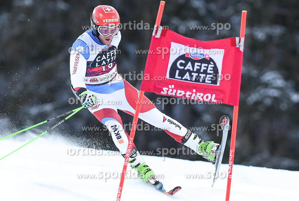 17.12.2017, Grand Risa, La Villa, ITA, FIS Weltcup Ski Alpin, Alta Badia, Riesenslalom, Herren, 1. Lauf, im Bild Justin Murisier (SUI) // Justin Murisier of Switzerland in action during his 1st run of men's Giant Slalom of FIS ski alpine world cup at the Grand Risa in La Villa, Italy on 2017/12/17. EXPA Pictures © 2017, PhotoCredit: EXPA/ Erich Spiess
