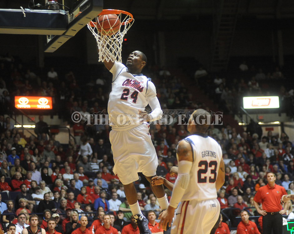 Mississippi's Terrico White (24) vs. Texas Tech's  in the third round of the NIT in Oxford, Miss. on Tuesday, March 23, 2010. Ole Miss won 90-87 in double overtime.