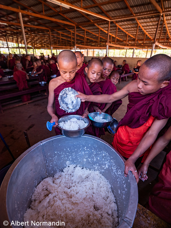 Nyaung Taung Monastery and Education Center, Hopone, Nyaung Shwe, Inle Lake, Myanmar