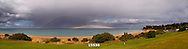 rainbow over Fisherman's Beach