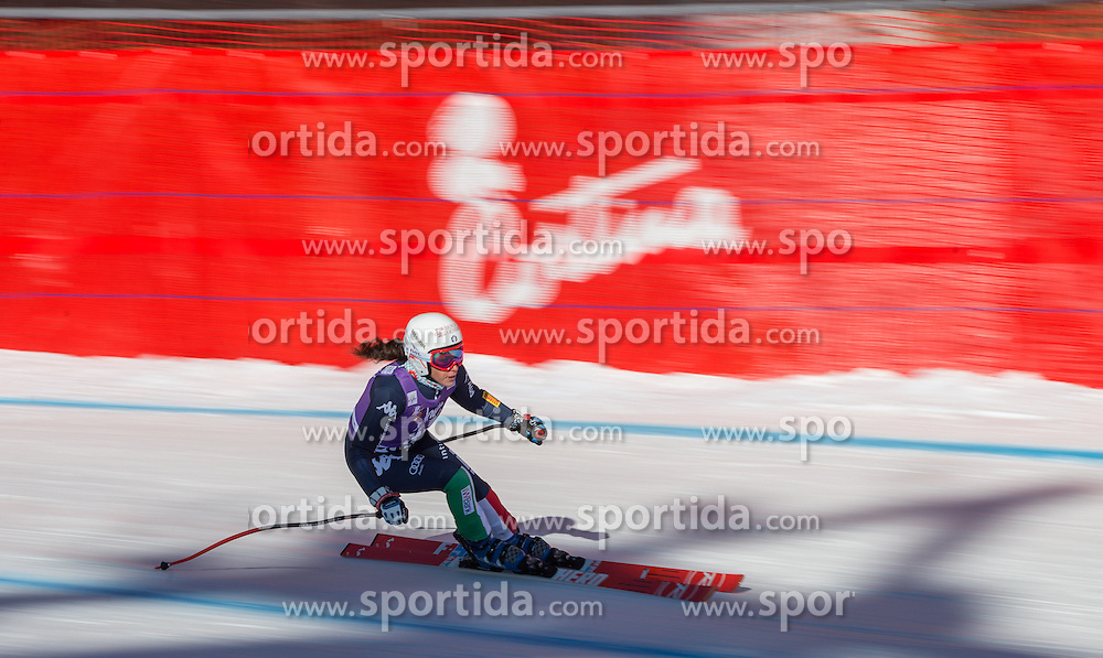 22.01.2016, Olympia delle Tofane, Cortina d Ampezzo, ITA, FIS Weltcup Ski Alpin, Abfahrt, Damen, 2. Training, im Bild Federica Brignone (ITA) // Federica Brignone of Italy competes in the 2nd training run for the ladies Downhill of the Cortina FIS Ski Alpine World Cup at the Olympia delle Tofane course in Cortina d Ampezzo, Italy on 2016/01/22. EXPA Pictures © 2016, PhotoCredit: EXPA/ Johann Groder