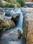 Waterfall at Slide Rock State Park, Sedona, Arizona.
