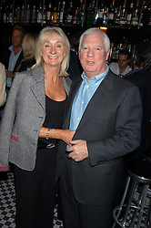 MR & MRS JOHN LEAT at a party hosted by Frankie Dettori, Marco Pierre White and Edward Taylor to celebrate the launch of Frankie's Italian Bar & Grill at 3 Yeoman's Row, London SW3 on 2nd September 2004.