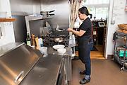 Jane Hashimawari, Co-Owner of Milk Glass Market in Portland, Oregon.