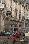 Cuba. La Habana center. capitole area  La Habana - Cuba   /  quartier du capitole, la Havane centre. Habana centro  La Havane - Cuba   V111