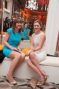 LOUISA PEACOCK; KATHRYN PARSONS; ( WINNER OF THE NEW GENERATION AWARD ) The Veuve Clicquot Business Woman Of The Year Award, celebrating women's excellence in business and commitment to sustainability. Claridge's, Brook Street, London, 22 April 2013