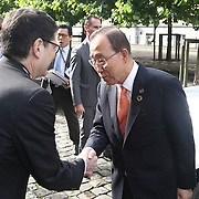 20160615 - Brussels , Belgium - 2016 June 15th - European Development Days - Bilateral Meeting <br /> Ban Ki-Moon, Secretary General, United Nations<br /> &copy; European Union