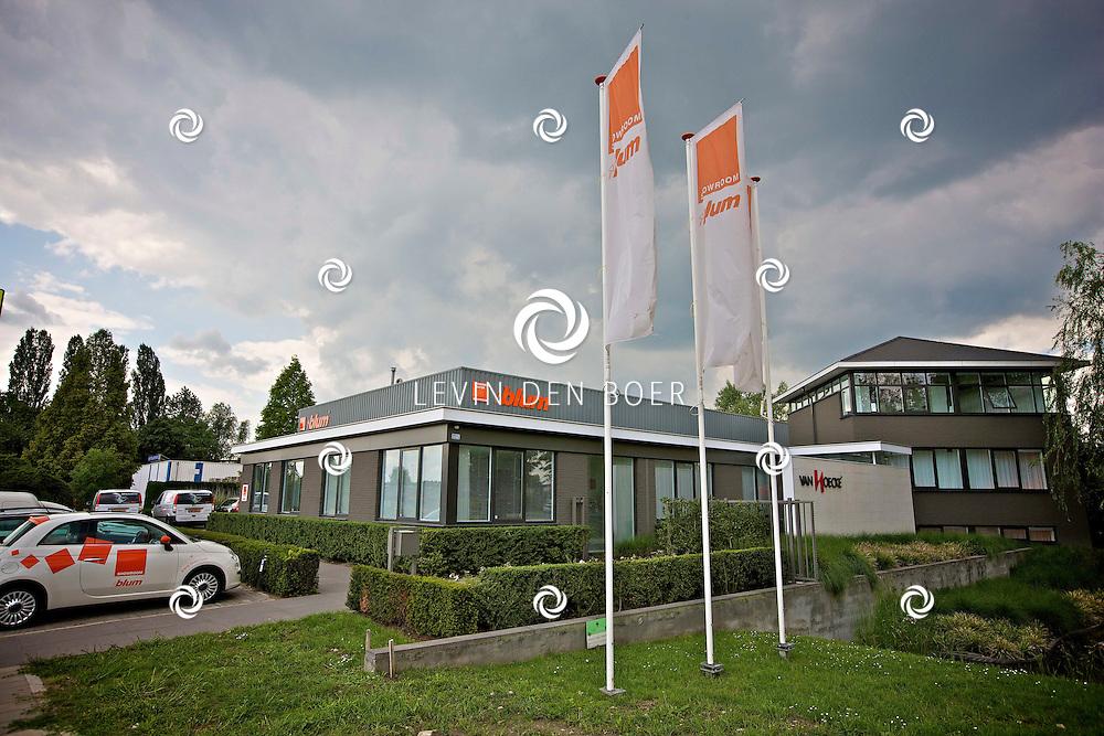 ZALTBOMMEL - Op het industrieterrein De Ooijk is het bedrijf Blum gevestigd. FOTO LEVIN DEN BOER - PERSFOTO.NU
