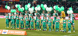28.02.2015, Ernst Happel Stadion, Wien, AUT, 1. FBL, SK Rapid Wien vs SK Puntigamer Sturm Graz, 22. Runde, im Bild Mannschaftsfoto // during a Austrian Football Bundesliga Match, 22th Round, between SK Rapid Vienna and FK Austria Vienna at the Ernst Happel Stadion, Wien, Austria on 2015/02/28. EXPA Pictures © 2015, PhotoCredit: EXPA/ Alexander Forst