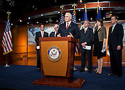 Sep 29, 2010 - Washington, District of Columbia, U.S., - House Republican Conference Chairman MIKE PENCE (R-IN) speaks to the press and blasts the Democratic leaders for blocking a vote extending all the Bush-era tax cuts. (Credit Image: © Pete Marovich/ZUMA Press)