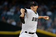 PHOENIX, AZ - APRIL 04:  Patrick Corbin #46 of the Arizona Diamondbacks delivers a pitch in the first inning against the San Francisco Giants at Chase Field on April 4, 2017 in Phoenix, Arizona.  (Photo by Jennifer Stewart/Getty Images)