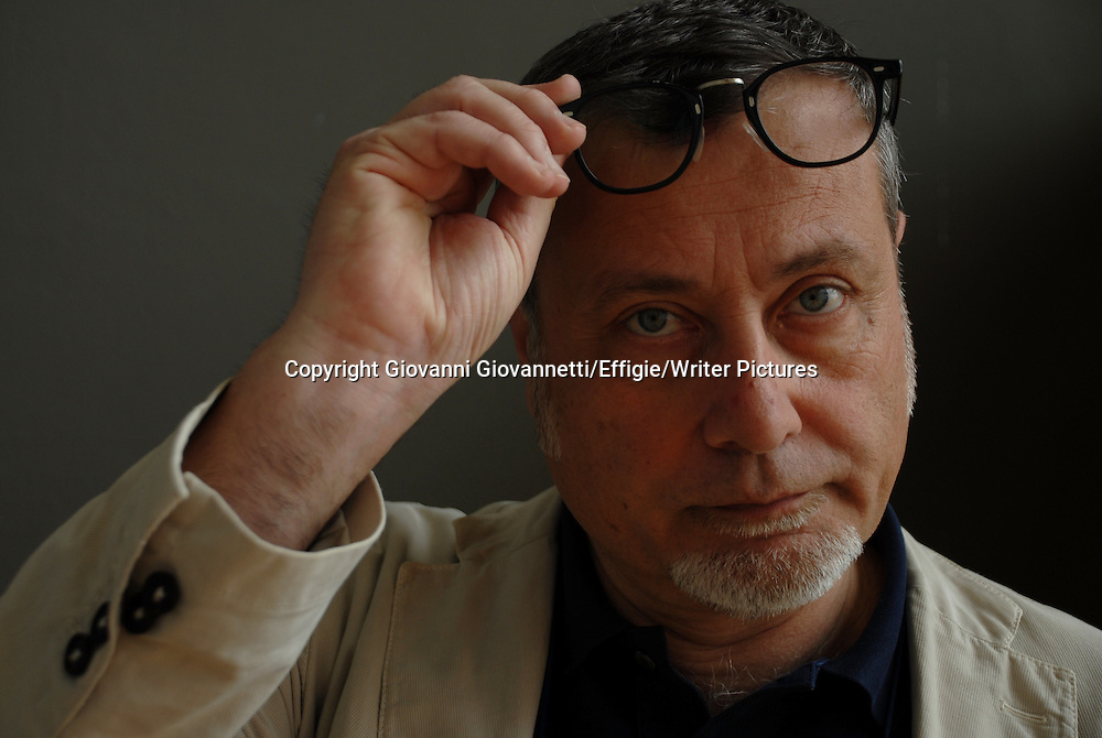 Massimo Carlotto, Salone Internazionale del Libro di Torino <br /> 18 May 2013<br /> <br /> Photograph by Giovanni Giovannetti/Effigie/Writer Pictures <br /> <br /> NO ITALY, NO AGENCY SALES