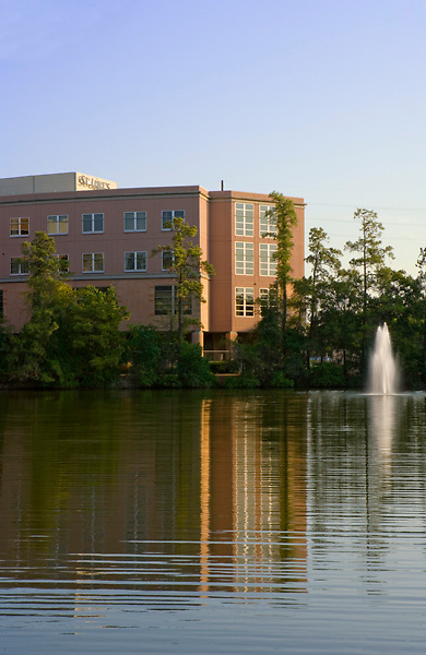Stock photo of St. Luke's Woodlands Hospital in The Woodlands, Texas