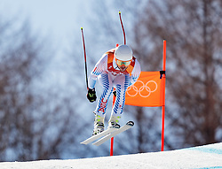 13.02.2018, Jeongseon Alpine Centre, Pyeongchang, KOR, PyeongChang 2018, Ski Alpin, Herren, Kombination, im Bild Jared Goldberg (USA) // Jared Goldberg of the USA during the Mens Ski Men's Alpine Combined of the Pyeongchang 2018 Winter Olympic Games at the Jeongseon Alpine Centre in Pyeongchang, South Korea on 2018/02/13. EXPA Pictures © 2018, PhotoCredit: EXPA/ Johann Groder