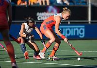 BREDA - Ireen van den Assem (Ned)   tijdens  de finale  Nederland-Japan (8-2) van de 4 Nations Trophy dames 2018 . COPYRIGHT KOEN SUYK