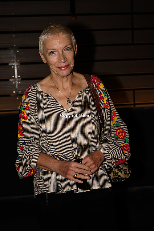 London, England, UK. 10th July 2017. Annie Lennox attends a Special screening of documentary looking at environmental health and climate change, featuring Mark Ruffalo, David Attenborough and Vivienne Westwood at Mondrian Hotel, London, UK.