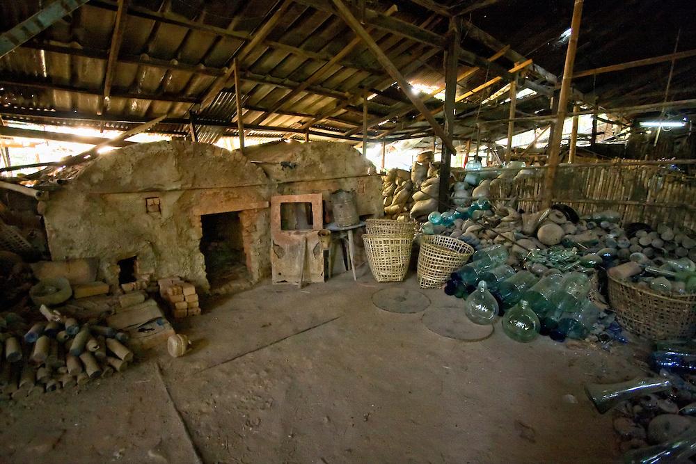 Na-gar Glassworks, Yangon, Myanmar.