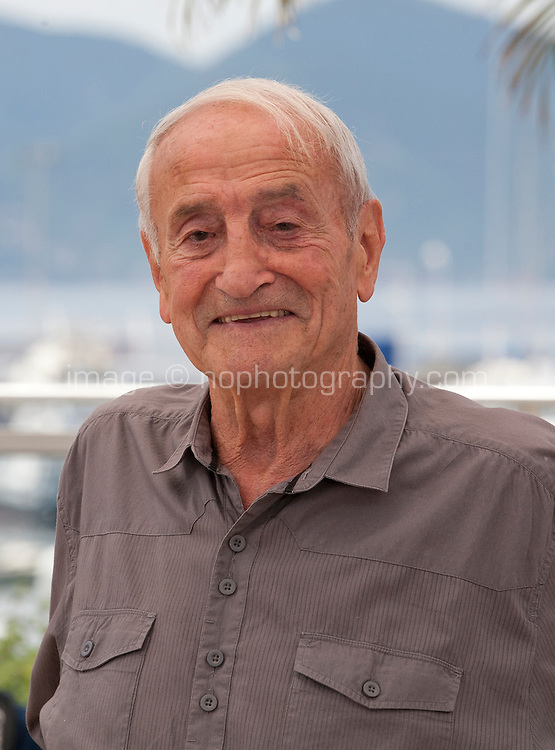 Glaciologist/Actor Claude Lorius at the Ice And The Sky - La Glace Et Le Ciel film photo call at the 68th Cannes Film Festival Saturday 23rd May 2015, Cannes, France.