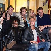 NLD/Amsterdam/20160105 - Persdag cast Sneekweek, Carolien Spoor, Jelle de Jong, Jord Knotter, Yootha Wong-Loi-Sing, Kimberly Klaver, Ferry Doedens, Rutger Vink, Holly Brood