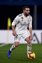 January 3, 2019 - Villarreal, Castellon, Spain - Daniel Carvajal of Real Madrid during the week 17 of La Liga match between Villarreal CF and Real Madrid at Ceramica Stadium in Villarreal, Spain on January 3 2019. (Credit Image: © Jose Breton/NurPhoto via ZUMA Press)