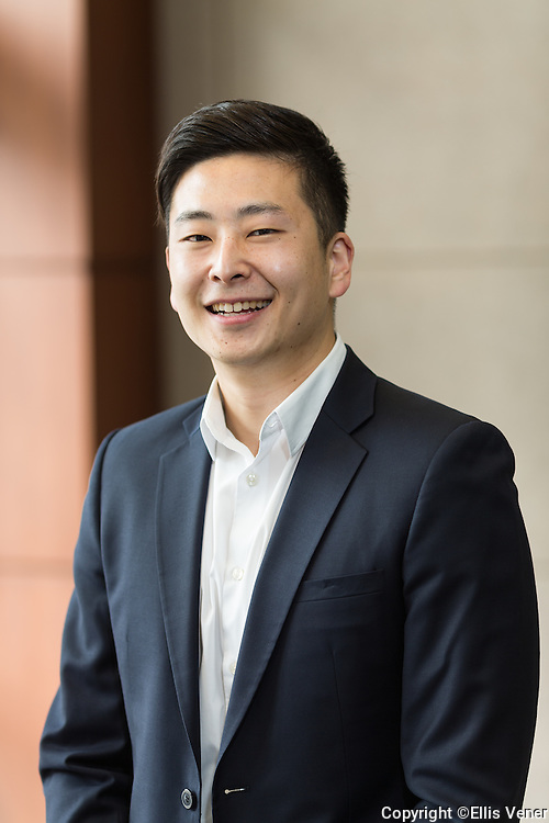 portrait of Asian-American executive with AT&T Mobility
