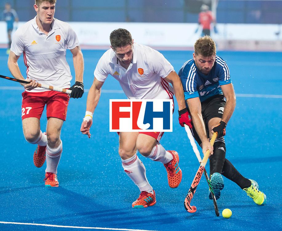 Odisha Men's Hockey World League Final Bhubaneswar 2017<br /> Match id:14<br /> England v Argentina , Quater Final<br /> Foto:  Mark Gleghorne (Eng)<br /> WSP COPYRIGHT KOEN SUYK