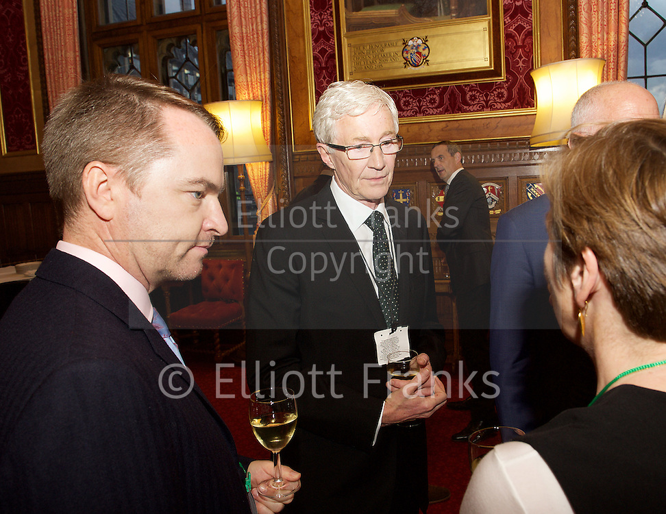The Kaleidoscope Trust Speaker's Reception at the Houses of Parliament on Monday 10th October 2016 to thank donors past and present for their continued support.