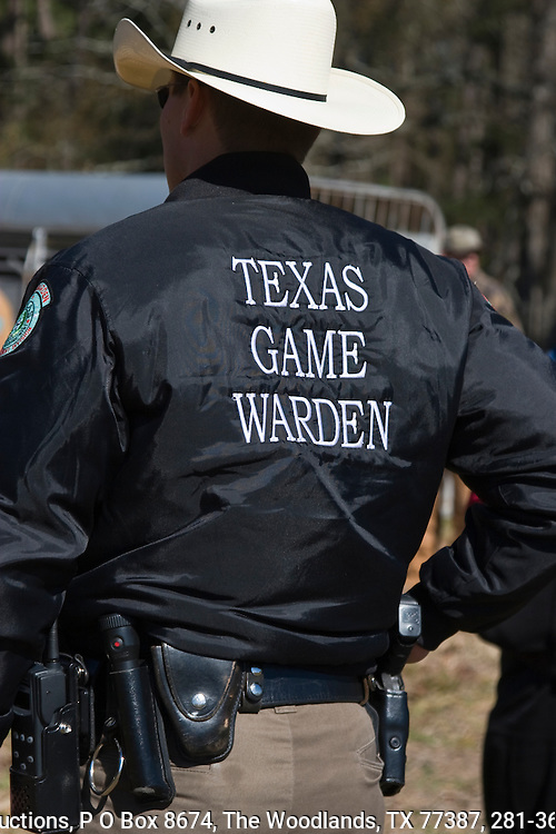 Texas Game Warden, from behind.