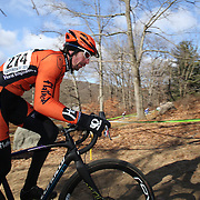 Paul Nyberg in action during the Cyclo-Cross, Supercross Cup 2013 UCI Weekend at the Anthony Wayne Recreation Area, Stony Point, New York. USA. 24th November 2013. Photo Tim Clayton