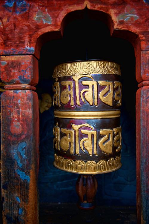 Asia, Tibet, Bhutan, Thimpu, nun