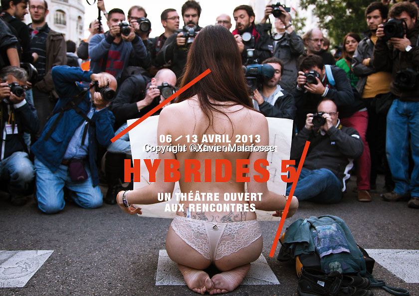 Festival Hybrides, avril 2013.
