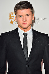 © Licensed to London News Pictures. 13/02/2016. TARON EGERTON attendS the BAFTA Lancôme Nominees' Party held at Kensington Palace. London, UK. Photo credit: Ray Tang/LNP