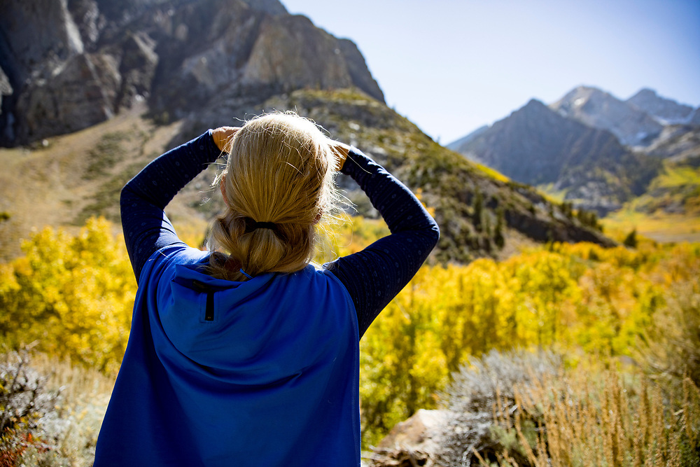 The Fall season in the Eastern Sierras is one of the most beautiful seasons to visit. McGee Creek Trail is where you'll find the Aspens in full bloom in October.