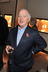 Film producer DOUGLAS RAE at a party to celebrate the launch of Carol Woolton's book 'Drawing Jewels For Fashion' held at Asprey, 167 New Bond Street, London W1 on 10th November 2011.
