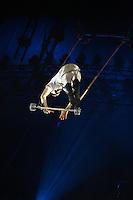 Karlsruhe. 04.09.15 Circus Flic Flac. 25 Jahre Programm &quot;H&ouml;chststrafe&quot;.<br /> Am 4. November 2015 kommt Flic Flac nach Mannheim. Preview zum aktuellen Programm.<br /> - Nicolai Kuntz<br /> Bild: Markus Pro&szlig;witz 04SEP15 / masterpress (Bild ist honorarpflichtig)