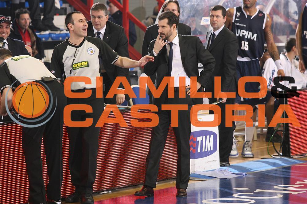 DESCRIZIONE : Napoli Lega A1 2007-08 Eldo Napoli Upim Fortitudo Bologna <br /> GIOCATORE : Andrea Mazzon Arbitro<br /> SQUADRA : Upim Fortitudo Bologna <br /> EVENTO : Campionato Lega A1 2007-2008 <br /> GARA : Eldo Napoli Upim Fortitudo Bologna <br /> DATA : 22/12/2007 <br /> CATEGORIA : Ritratto <br /> SPORT : Pallacanestro <br /> AUTORE : Agenzia Ciamillo-Castoria/G.Ciamillo