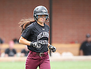 May 9, 2015: The Oklahoma Wesleyan University Eagles play against the Oklahoma Christian University Lady Eagles in the NCCAA Central Region Tournament  at Lawson Plaza on the campus of Oklahoma Christian University.