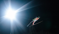 05.01.2016, Paul Ausserleitner Schanze, Bischofshofen, AUT, FIS Weltcup Ski Sprung, Vierschanzentournee, Qualifikation, im Bild Peter Prevc (SLO) // Peter Prevc of Slovenia during his Qualification Jump for the Four Hills Tournament of FIS Ski Jumping World Cup at the Paul Ausserleitner Schanze, Bischofshofen, Austria on 2016/01/05. EXPA Pictures © 2016, PhotoCredit: EXPA/ JFK