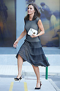 071819 Queen Letizia attends an ordinary meeting of the Fundeu BBVA Advisory Board