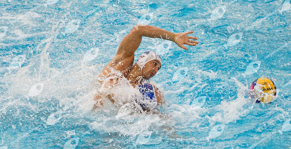 4 FIGLIOLI Pietro Italy ITA<br /> Italy ITA - China CHN<br /> 15 FINA World Aquatics Championships<br /> Day-09 Waterpolo Men<br /> Barcelona 19 July - 4 August 2013<br /> Photo G.Barbagelata/Insidefoto/Deepbluemedia.eu