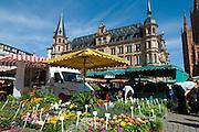 Wochenmarkt, Wiesbaden, Hessen, Deutschland | farmer's market, Wiesbaden, Hesse, Germany