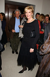 BARONESS BEA VAN ZUYLEN at a concert by Charlotte Gordon Cumming in aid of Tusk held at the National Geographical Society, 1 Kensington Gore, London SW7 on 16th March 2006.<br /><br />NON EXCLUSIVE - WORLD RIGHTS