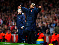 20111227: LONDON, UK - Barclays Premier League 2011/2012: Arsenal vS Wolverhampton Wanderers.<br /> In photo: A dejected Arsenal manager Arsene Wenger.<br /> PHOTO: CITYFILES