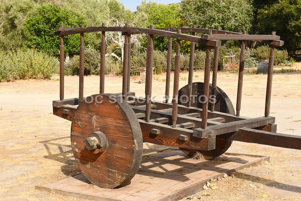 Ox Cart at La Purisima Mission