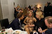 KARL-HEINZ GRASSER; BEGUM AGA KHAN; ELIETTE VON KARAJAN, Dinner at the Museum der Moderne. Salzburg.  Amadeus Weekend. Salzburg. 23 August 2008.  *** Local Caption *** -DO NOT ARCHIVE-© ightrPhotoPhotograph by Dafydd Jones. 248 Clapham Rd. London SW9 0PZ. Tel 0207 820 0771. www.dafjones.com.