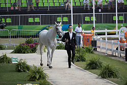 Price Tim, NZL, Ringwood Sky Boy<br /> Final Horse inspection Eventing<br /> Olympic Games Rio 2016<br /> © Hippo Foto - Dirk Caremans<br /> 09/08/16