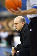 3rd September, 2002. Head Coach Tab Baldwin of  New Zealand during their game with Germany at the RCA Dome, Indianapolis, IN, USA during the World Basketball Championships 2002. <br />