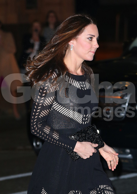 Catherine, Duchess of Cambridge attends the Action on Addiction Autumn Gala Evening at L'Anima in London, UK. 23/10/2014<br />