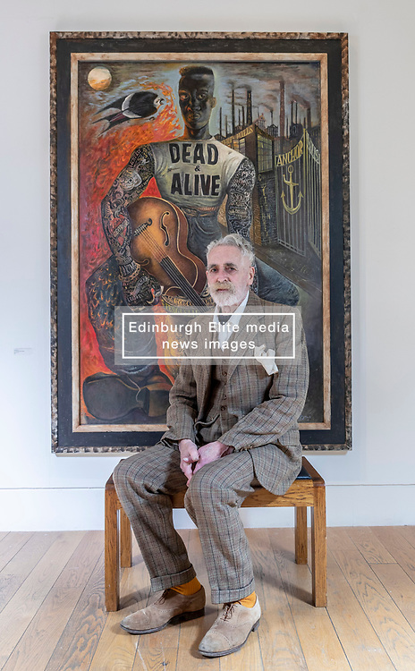 This winter an exhibition of new paintings, drawings and prints by one of Scotland's most celebrated artists, John Byrne RSA, will be on view in the Academicians' Gallery. Well known as a polymath of prolific output, producing plays, screenplays and stage design alongside his artistic practice, Byrne's idiosyncratic style has brought him significant renown in recent years.<br /> <br /> Titled Rogues' Gallery, the exhibition presents a cast of motley characters, fashioned from memories of Byrne's childhood growing up in Paisley combined with his vast imagination. <br /> <br /> The exhibition opens on 17 November 2018 until 23 December 2018 at the RSA Academicians' Gallery, The Royal Scottish Academy, The Mound, Edinburgh
